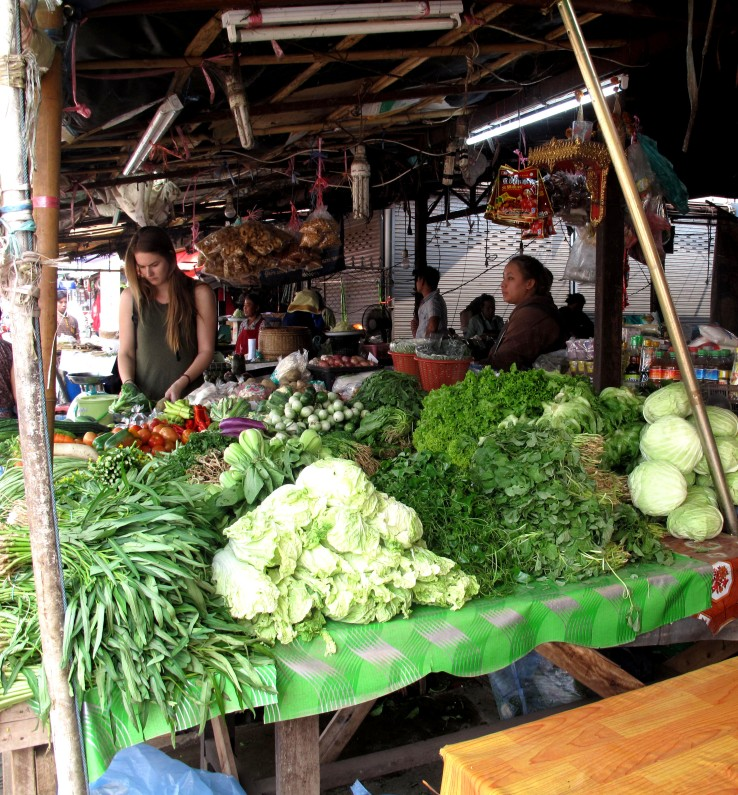 regarde aux légumes